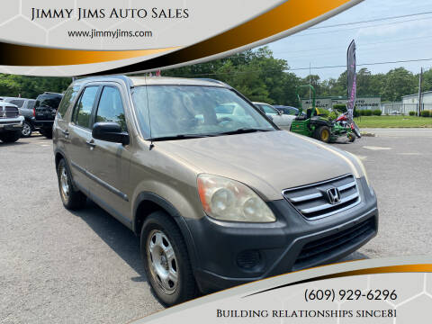 2006 Honda CR-V for sale at Jimmy Jims Auto Sales in Tabernacle NJ