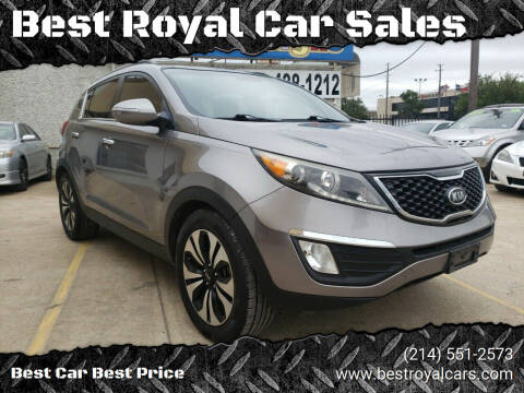 2011 Kia Sportage for sale at Best Royal Car Sales in Dallas TX