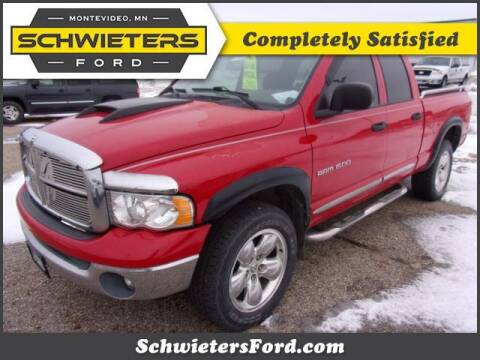 2003 Dodge Ram Pickup 1500 for sale at Schwieters Ford of Montevideo in Montevideo MN