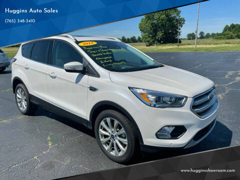 2018 Ford Escape for sale at Huggins Auto Sales in Hartford City IN