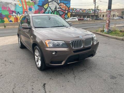 2012 BMW X3 for sale at Exotic Automotive Group in Jersey City NJ