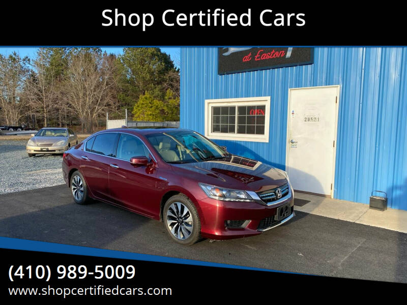 2015 Honda Accord Hybrid for sale at Shop Certified Cars in Easton MD