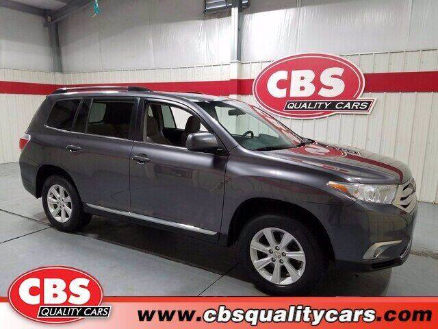 2012 Toyota Highlander for sale at CBS Quality Cars in Durham NC