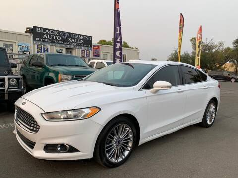 2015 Ford Fusion for sale at Black Diamond Auto Sales Inc. in Rancho Cordova CA