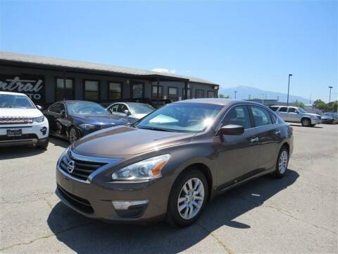 2015 Nissan Altima for sale at Central Auto in South Salt Lake UT