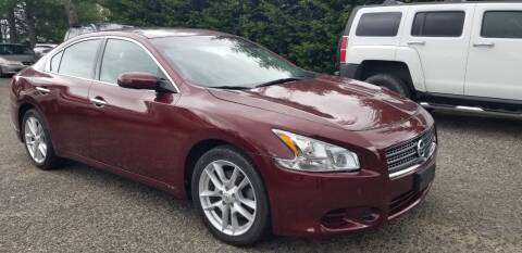2009 Nissan Maxima for sale at Central Jersey Auto Trading in Jackson NJ