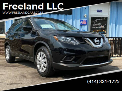 2016 Nissan Rogue for sale at Freeland LLC in Waukesha WI