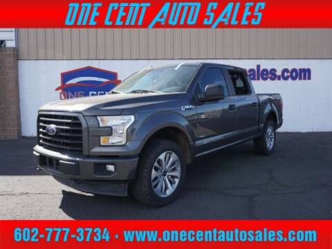 2017 Ford F-150 for sale at One Cent Auto Sales in Glendale AZ