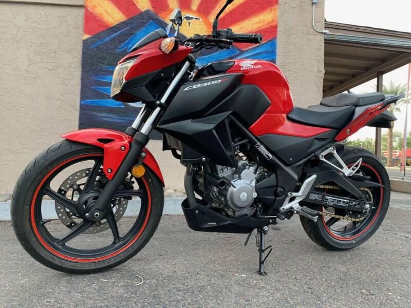 2015 Honda CB300F for sale at Chandler Powersports in Chandler AZ
