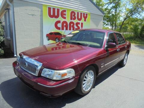2010 Mercury Grand Marquis for sale at Right Price Auto Sales in Murfreesboro TN