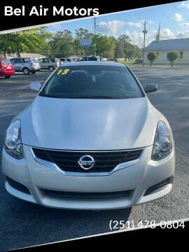 2013 Nissan Altima for sale at Bel Air Motors in Mobile AL
