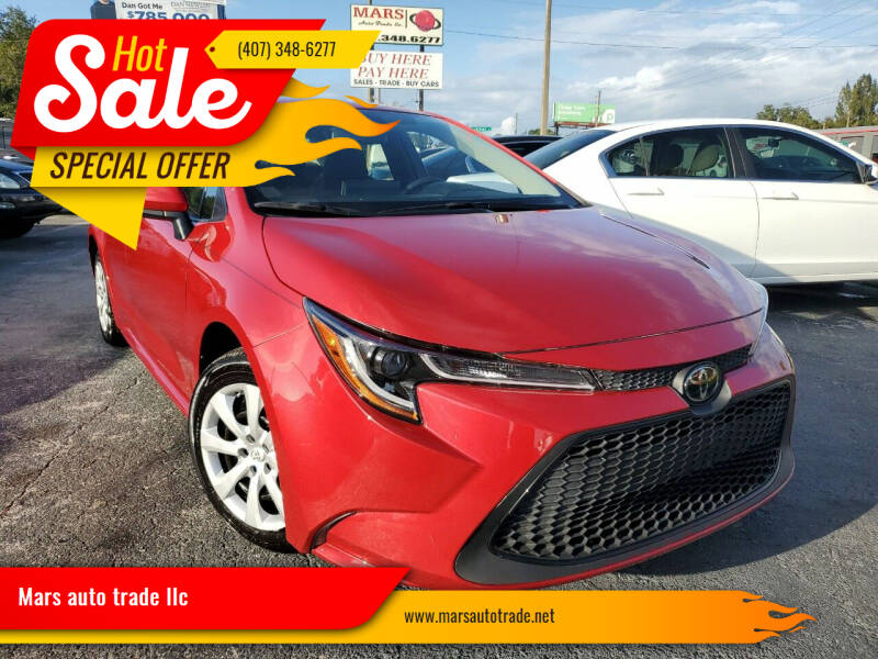 2020 Toyota Corolla for sale at Mars auto trade llc in Kissimmee FL