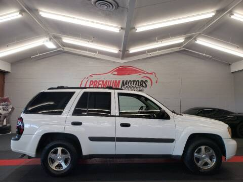 2005 Chevrolet TrailBlazer for sale at Premium Motors in Villa Park IL