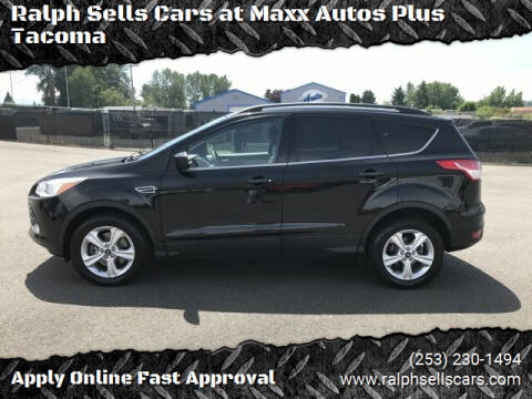 2013 Ford Escape for sale at Ralph Sells Cars at Maxx Autos Plus Tacoma in Tacoma WA