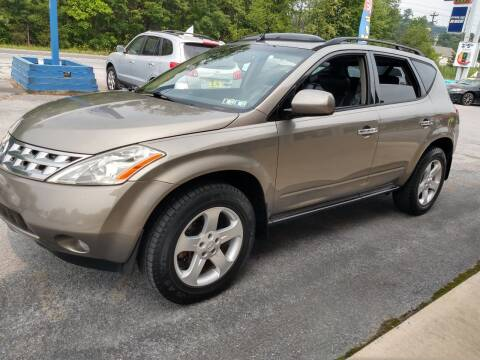 2004 Nissan Murano for sale at 100 Motors in Bechtelsville PA