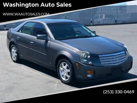 2007 Cadillac CTS for sale at Washington Auto Sales in Tacoma WA