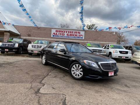 2015 Mercedes-Benz S-Class for sale at Brothers Auto Group in Youngstown OH