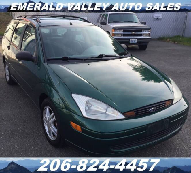 2001 Ford Focus for sale at Emerald Valley Auto Sales in Des Moines WA