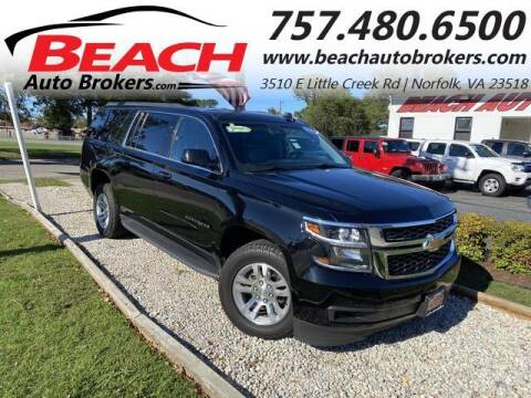 2016 Chevrolet Suburban for sale at Beach Auto Brokers in Norfolk VA