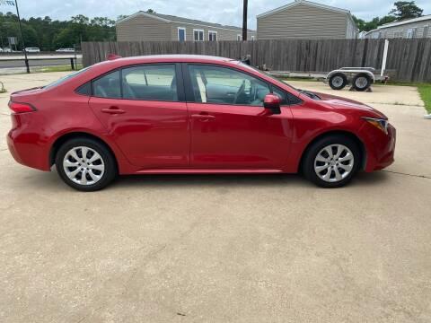 2020 Toyota Corolla for sale at Lumberton Auto World LLC in Lumberton TX