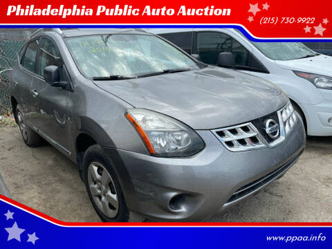 2014 Nissan Rogue Select for sale at Philadelphia Public Auto Auction in Philadelphia PA