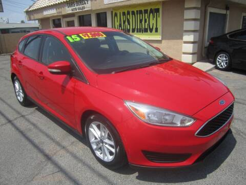 2015 Ford Focus for sale at Cars Direct USA in Las Vegas NV