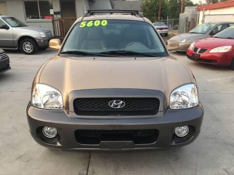 2001 Hyundai Santa Fe for sale at Best Buy Auto in Boise ID