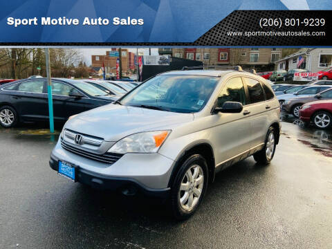 2009 Honda CR-V for sale at Sport Motive Auto Sales in Seattle WA