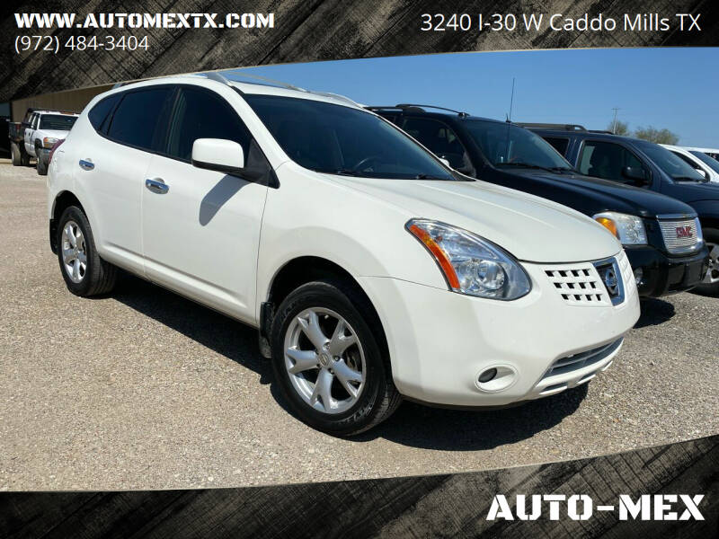 2010 Nissan Rogue for sale at AUTO-MEX in Caddo Mills TX