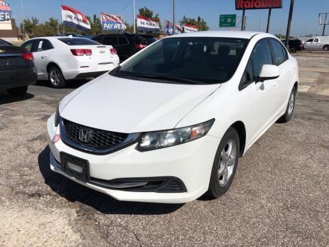 2013 Honda Civic for sale at Ital Auto in Oklahoma City OK
