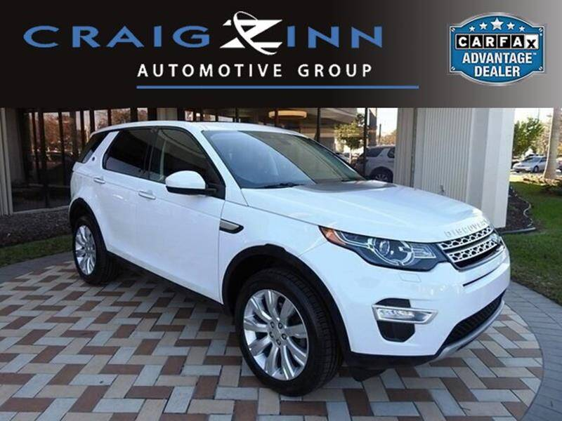 2015 Land Rover Discovery Sport for sale at Lexus Subaru of Pembroke Pines in Pembroke Pines FL