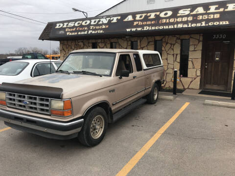 1992 Ford Ranger for sale at Discount Auto Sales in Wichita KS