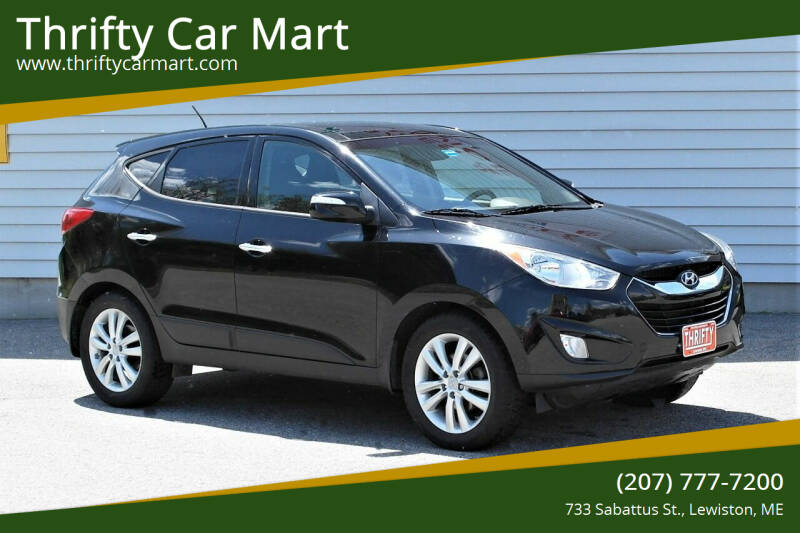 2012 Hyundai Tucson for sale at Thrifty Car Mart in Lewiston ME