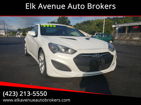 2013 Hyundai Genesis Coupe for sale at Elk Avenue Auto Brokers in Elizabethton TN