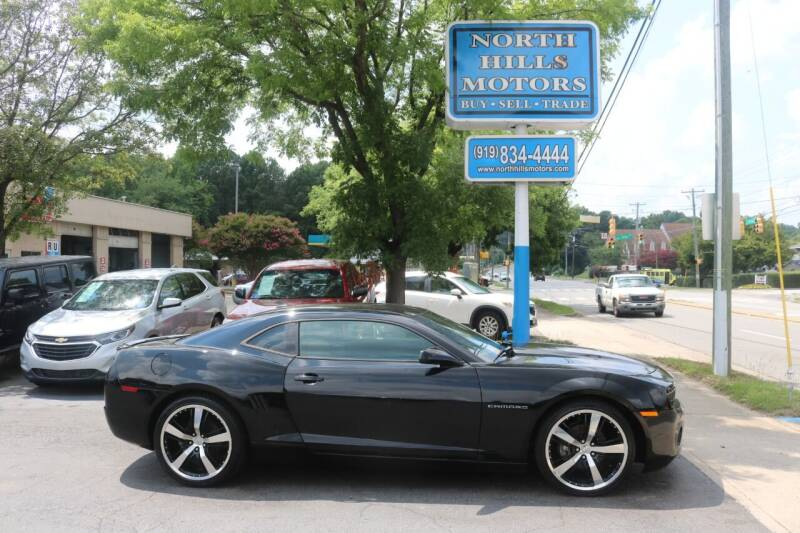2013 Chevrolet Camaro for sale at North Hills Motors in Raleigh NC