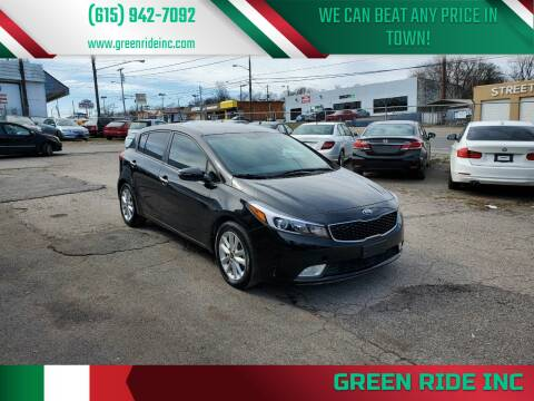 2017 Kia Forte5 for sale at Green Ride Inc in Nashville TN