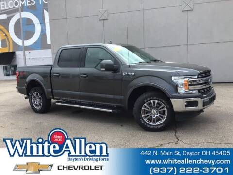 2018 Ford F-150 for sale at WHITE-ALLEN CHEVROLET in Dayton OH