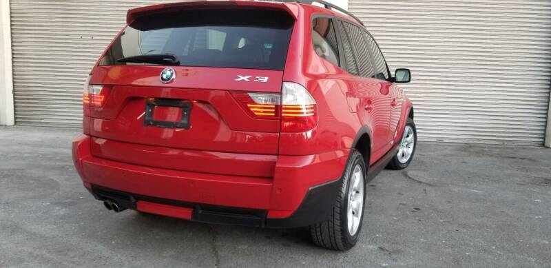 2008 BMW X3 for sale at Top Speed Auto Sales in Fremont CA