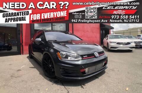 2015 Volkswagen Golf GTI for sale at Celebrity Motors in Newark NJ
