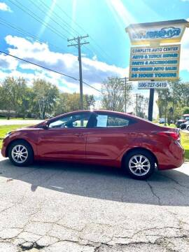 2016 Hyundai Elantra for sale at JEREMYS AUTOMOTIVE in Casco MI