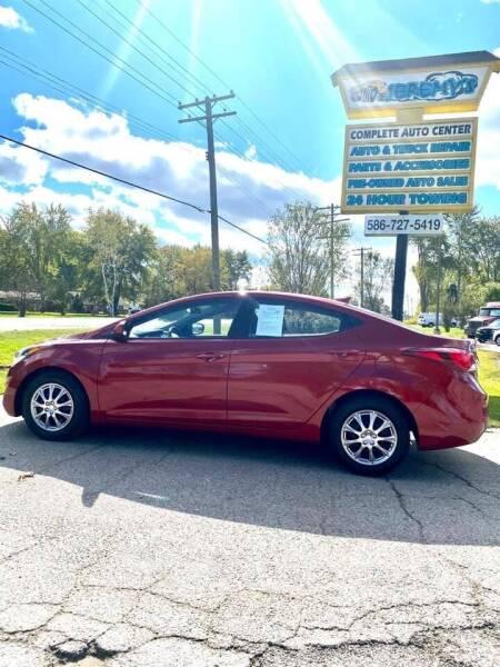 2016 Hyundai Elantra for sale at JEREMYS AUTOMOTIVE in Casco MI