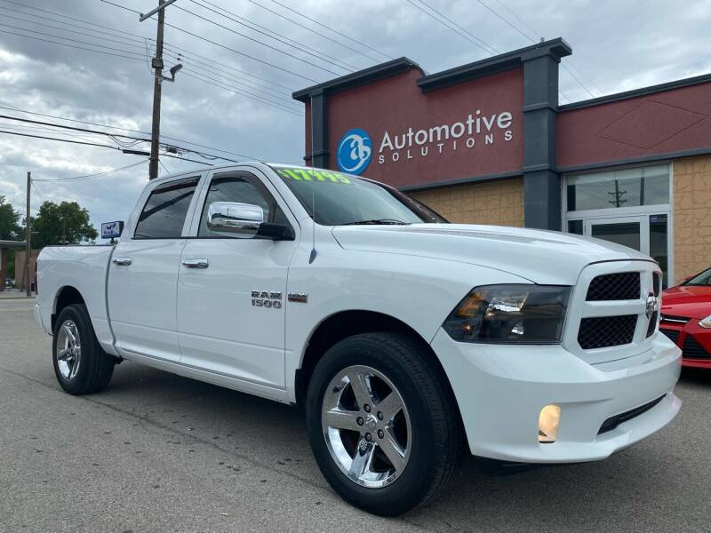 2013 RAM Ram Pickup 1500 for sale at Automotive Solutions in Louisville KY