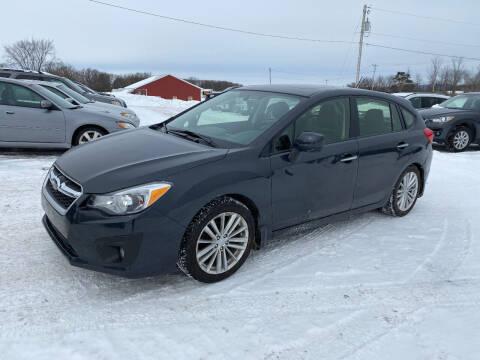 2014 Subaru Impreza for sale at Riverside Motors in Glenfield NY