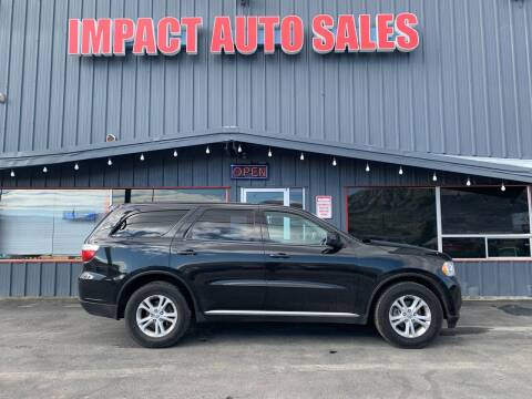 2013 Dodge Durango for sale at Impact Auto Sales in Wenatchee WA