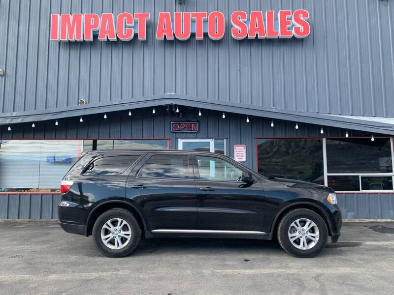 2013 Dodge Durango for sale at Impact Auto Sales in Wenatchee WA