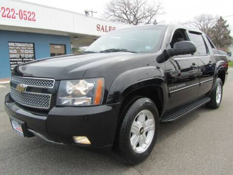 2009 Chevrolet Avalanche for sale at Trimax Auto Group in Norfolk VA