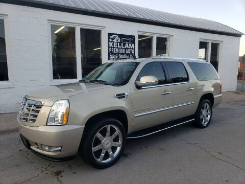 2012 Cadillac Escalade ESV for sale at Kellam Premium Auto Sales & Detailing LLC in Loudon TN