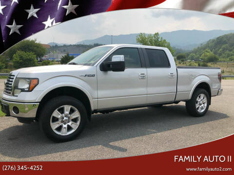 2011 Ford F-150 for sale at FAMILY AUTO II in Pounding Mill VA
