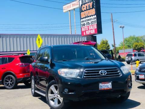 2009 Toyota Highlander for sale at City Motors in Hayward CA