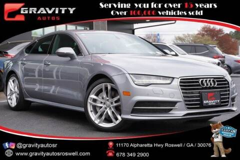 2016 Audi A7 for sale at Gravity Autos Roswell in Roswell GA